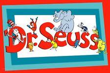 Dr. Seuss Iron On Transfer Light or Dark Fabrics 5 x 7 Size
