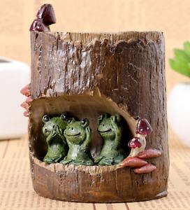 Animals Succulent Plant Flower Pot Planter Bonsai Trough Storage Box Pencil Hold
