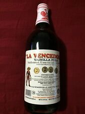 Single Bottle Mexican Vanilla Glass Bottle  La Vencedora (1)