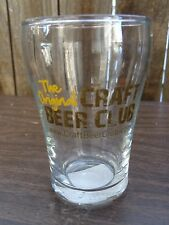BEER Taster Glass: The Original CRAFT BEER CLUB ** See STORE for 100s of Glasses