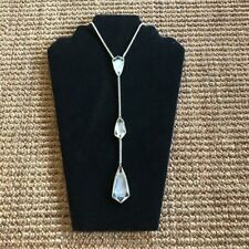 Kendra Scott Suspended Pearl Gold Charlotte Y Necklace Rare
