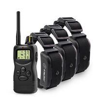 Collar Entrenador Adiestramiento 3 Perros Petrainer 900B-3 Eléctrico Remoto 1000