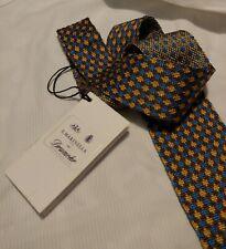 CRAVATTA (TIE)  tricot MARINELLA Napoli for Drumohr made in Italy  New!  rare