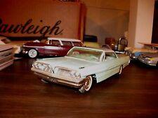1961 Pontiac Bonneville 2-dr HT 1/25 scale friction promo model - decent display