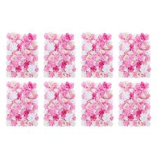 8 Pieces Artificial Flower Wall Panels Wedding Venue Decor 60 x 40cm