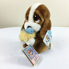 Vintage Applause Sad Sam & Honey w/ Bird Prayer Plush Stuffed Toy Lovey