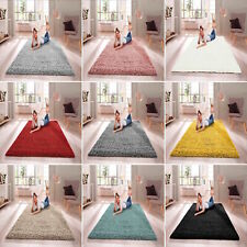 SHAGGY RUG 30mm HIGH PILE SMALL EXTRA LARGE THICK SOFT LIVING ROOM FLOOR BEDROOM