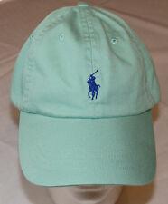 Mens Polo Ralph Lauren hat cap golf casual Offshore Green 4331036 adjustable NEW