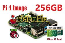 256 GB RetroPie SD Card - Raspberry Pi 4 - 12,000 Games- Dreamcast, PS1, Naomi