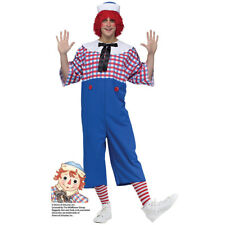 Mens Raggedy Andy Halloween Costume Size Standard