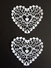Die cut hearts