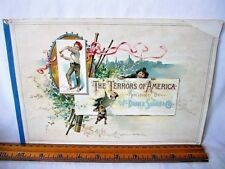 The Terrors of America - W. Duke Sons & Co. - Tobacco Album Only