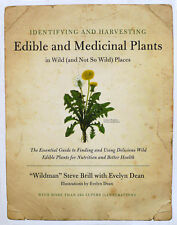 Identifying and Harvesting Edible and Medicinal Plants Brand New Book WT13199