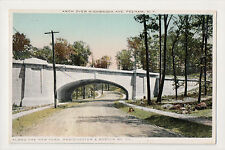 Highbrook Ave Arch Pelham NEW YORK WESTCHESTER & BOSTON RR RAILROAD NYW&BRR PC
