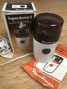 Moulinex Super-Junior S Coffee Grinder 505 Made In France With Original Box