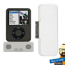 New Mini GraytLittleSpeaker White iPod Portable Mini Rechargeable Speaker System