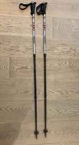 LEKI Super Makalu nordic walking poles with soft antishock max 140 cm