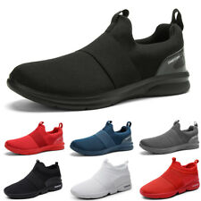 Womens Casual Sneakers Outdoor Athletic Running Slip on Tennis Walking Gym Shoes