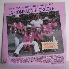 33T TOP CREOLE Vinyle LP LES + GRANDS SUCCES COMPAGNIE CREOLE - ALINE MUSIC 1101