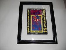 """Large Framed Beatles Candlestick Park CA 1966 Poster John Lennon 24"""" by 20"""""""