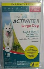 Tevrapet Activate Ii Large Dog 21-55 lbs - 4 month Flea &Tick Topical Repellent