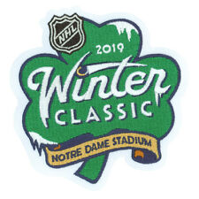 Official NHL 2019 Winter Classic Patch Chicago Blackhawks vs Boston Bruins