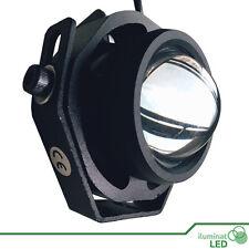 Foco IP65 LED Blanco Cálido Resistente Agua 12V AC/DC Carcasa Negra - 10W