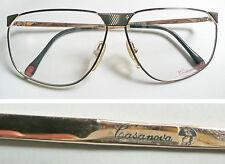 Casanova montatura per occhiali vintage frame eyeglasses 1980's
