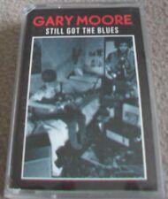 GARY MOORE - STILL GOT THE BLUES music cassette tape