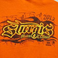Sturgis 2013 Motor Classic T-Shirt w Graphic Frt & Bk Gildan Heavy Cotton Size L