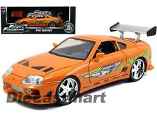 JADA 97505 THE FAST AND FURIOUS BRIAN'S TOYOTA SUPRA 1:18 ACTED BY PAUL WALKER