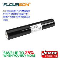 New 3000mAh 3.6V Ni-MH Battery for Streamlight Stinger 75175 75375 HP XT ST25170