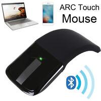 Mouse Senza Fili Wireless Pieghevole Bluetooth per Notebook PC Computer