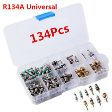 134Pcs R134A A/C Car Auto AC Air Conditioning Valve Core Car Tire Assortment Kit