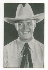 Jack Luden 1940's 1950's Salutations Cowboy Exhibit Arcade Card