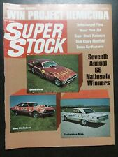 Super Stock August 1971 Pinto, Chevrolet, Plymouth, Charger, Corvette, Camaro
