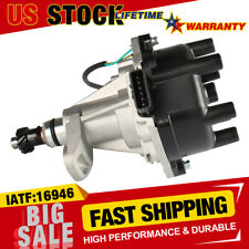 Ignition Distributor w/ Cap & Rotor 22100-1W601 For Nissan Frontier Xterra Quest