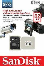 SanDisk 32GB 64GB High Endurance MicroSD SDHC SDXC Class 10 SDSDQQ MicroSD Lot