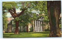 *Campus Scene Athens College Athens Alabama Vintage Postcard B47