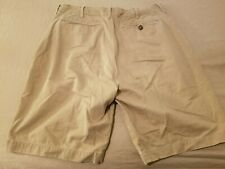 Mens Abercrombie & Fitch Khaki Shorts 36 Cotton Chino 38