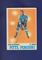 Ken Schinkel 1970-71 O-PEE-CHEE OPC Hockey #92 (EX) Pittsburgh Penguins