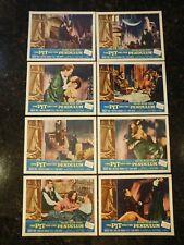 THE PIT AND THE PENDULUM Original 1961 Lobby Card Set, C8.5 Very Fine/Near Mint