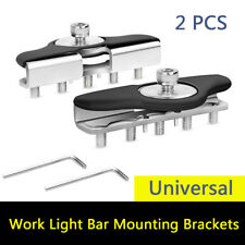 2 PCS Led Work Light Bar Mounting Brackets Clamp Holder for Jeep Truck Off Road