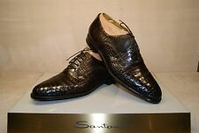 Santoni Alligator leather Herrenschuhe Gr:  10 (44)