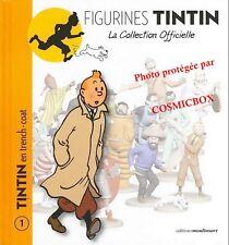 Livret TINTIN en trench coat la collection officielle fascicule booklet livre 1