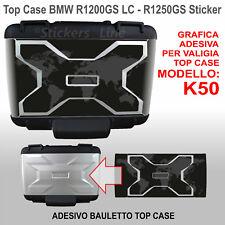 Adesivo borsa TOP CASE valigia K50 BMW R1200GS - R1250GS grafica CAPONORD 2013