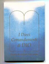 I DIECI COMANDAMENTI DI DIO - LA VITA DEI CRISTIANI #Vita Universale 1995 1A ED.