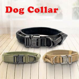 Collare Per Cani Nylon Regolabile Traspirante di Taglia Media ed Extra-grande