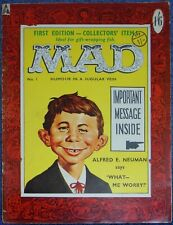 MAD #1~EC COMICS~1959~BRITISH~STRATO-TOP SELLERS~VERY GOOD~RARE~DAVIS~ORLANDO