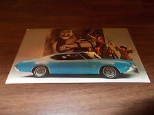 1969 Oldsmobile Cutlass S Holiday Coupe Advertising Postcard